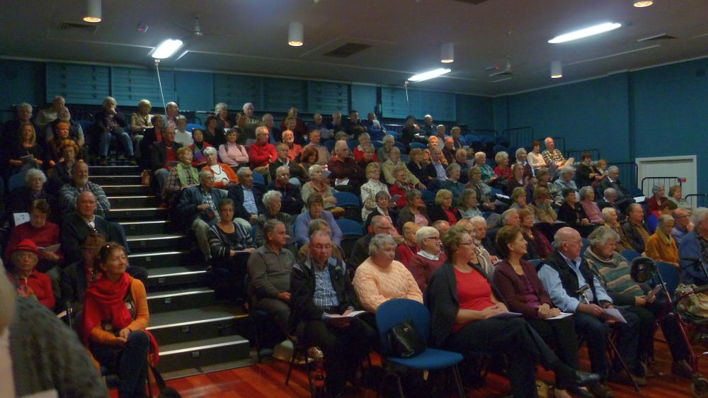 """The audience at the """"Musical"""" Magic Concert 24 May 2015"""
