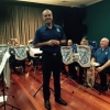 Musical Director Dave Thompson accepte audience applause at the Movie Magic Concert 20 September 2015