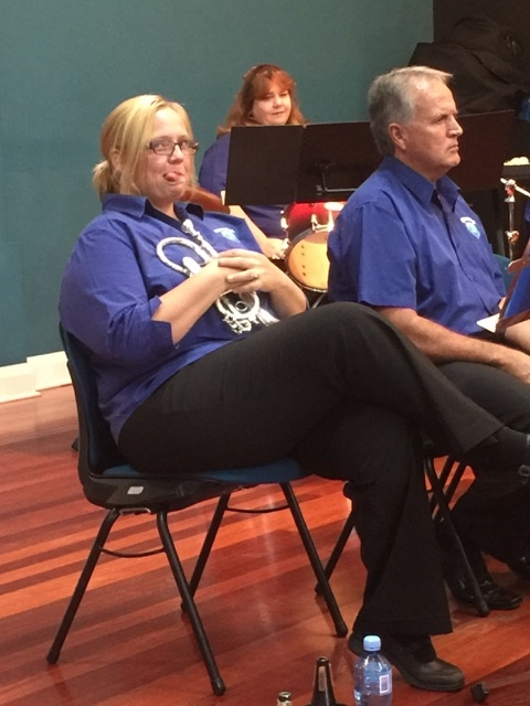 Jou, Bruce and Heather present the novel, casual and serious side of banding at the Afternoon of Good Music Concert 22 May 2016