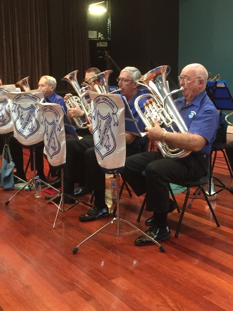 """Baritones and Euphoniums """"in harmony"""" at the Afternoon of Good Music Concert 22 May 2016"""