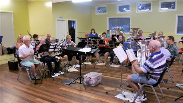 CNL Brass entertain at the Christmas Function: 14 December 2016