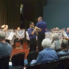 """Clarence Leung features on cornet, playing """"Georgia On My Mind"""" at the """"Valentine's in March"""" Concert 20 March 2016"""