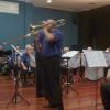 """Marcus Holdsworth features on trombone playing """"Can't Take My Eyes Off You"""" at the """"Valentine's in March"""" Concert 20 March 2016"""