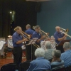 """The Trombone Section play """"The Attack of the Killer Trombones"""" at the """"Valentine's in March"""" Concert 20 March 2016"""